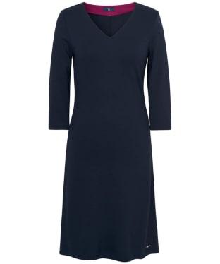 Women's GANT Jersey V-Neck Dress