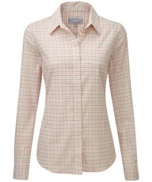 Women's Schöffel Ladies Tattersall Shirt - Rose Tattersall
