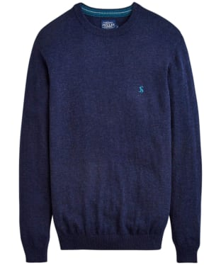 Men's Joules Retford Crew Neck Jumper - French Navy Marl