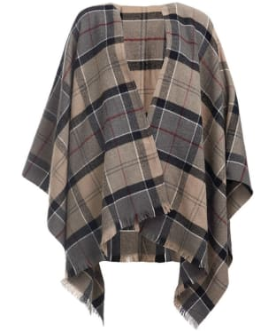 Women's Barbour Staffin Tartan Serape - Winter Tartan