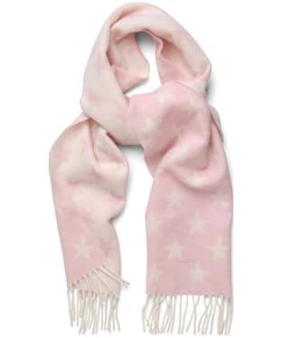 Women's GANT Star Lambswool Scarf - Light Pink