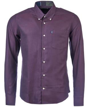 Men's Barbour Don Tailored Shirt - Merlot