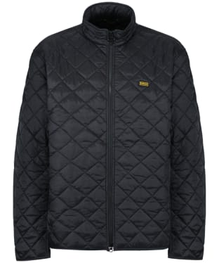 Men's Barbour International Gear Quilted Jacket - Black