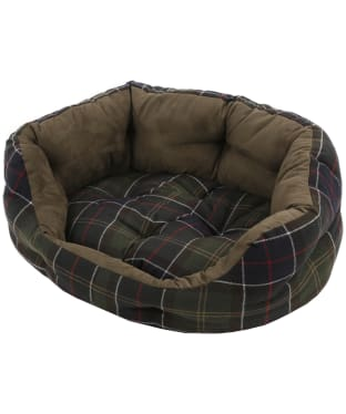 "Barbour 30"" Luxury Dog Bed - Classic Tartan"