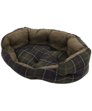 "Barbour 35"" Luxury Dog Bed - Classic Tartan"