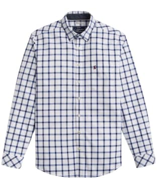 Men's Joules Wilby Classic Fit Shirt - Blue Overcheck