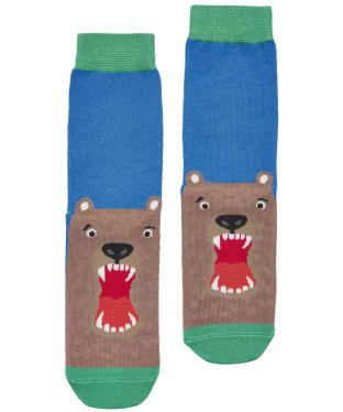 Boy's Joules Eat Feet Character Socks - Bear