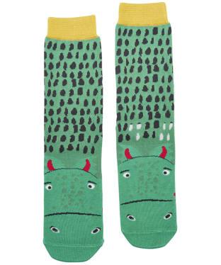 Boy's Joules Eat Feet Character Socks - Dragon