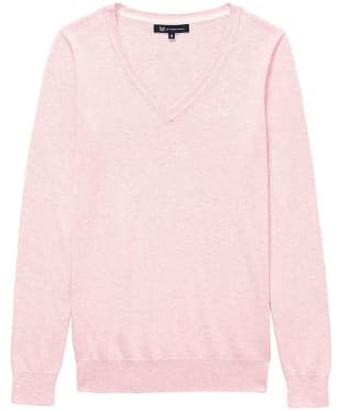 Women's Crew Clothing Foxy V-Neck Sweater - Classic Pink Marl