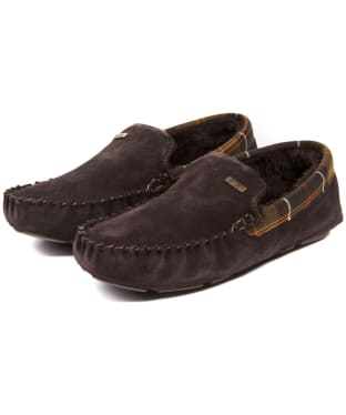 Men's Barbour Monty House Slippers - Brown