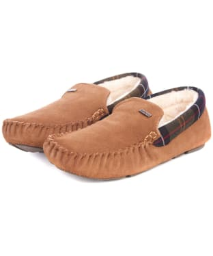 Men's Barbour Monty House Slippers - Camel