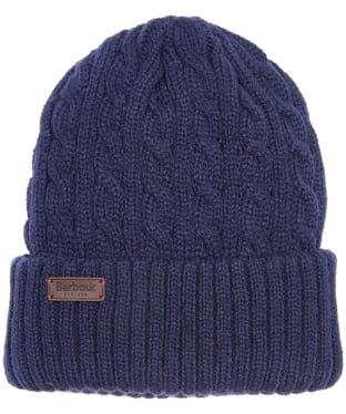 Men's Barbour Balfron Knit Beanie - Navy