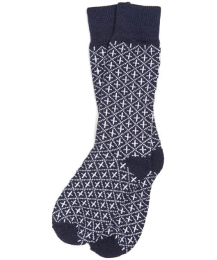 Men's Barbour Hail Socks - Navy