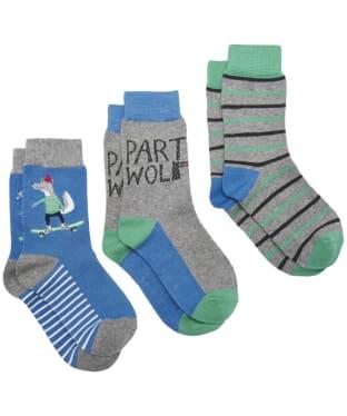 Boy's Joules Bamboo Socks, 3-pack