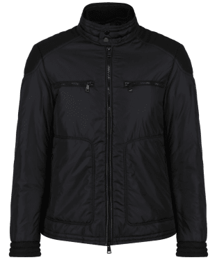 Men's Hackett Aston Martin Endurance Moto Jacket - Black