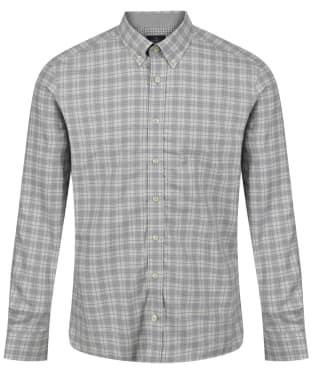 Men's Hackett Melange Check Multi Trim Shirt