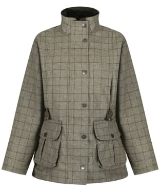 Women's Alan Paine Rutland Field Coat - Asparagus
