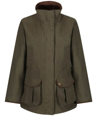 Women's Alan Paine Berwick Waterproof Shooting Jacket - Olive