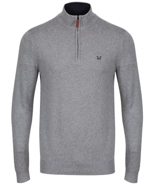 Men's Crew Clothing Half Zip Sweatshirt