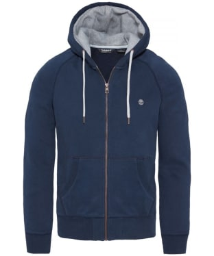 Men's Timberland Exeter River Zip Thru Hoody - Dark Navy
