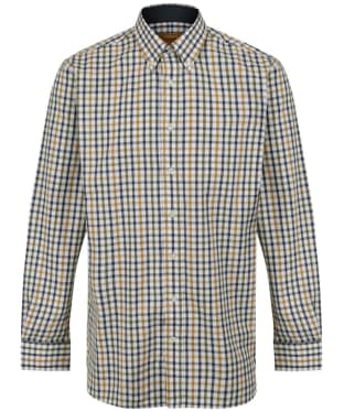 Men's Schoffel Brancaster Shirt - Olive Check