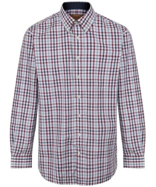 Men's Schoffel Brancaster Shirt - Sky Blue Check