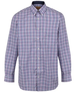 Men's Schoffel Holkham Shirt - Plum