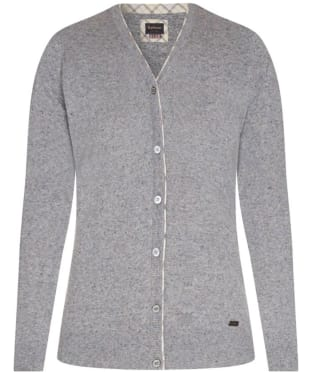 Women's Barbour Popham Cardigan - Pewter