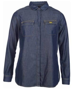 Women's Barbour International Mallory Shirt - Dark Chambray