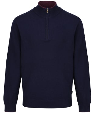 Men's Musto Shooting Zip Neck - True Navy