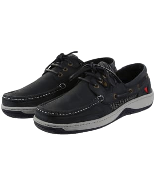 Men's Dubarry Regatta Boat Shoes - Navy