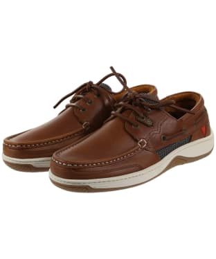 Men's Dubarry Regatta Boat Shoes - Tan