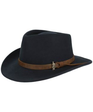 Jack Murphy Boston Jack Felt Hat - Heritage Navy