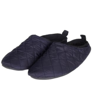Men's Barbour Guthrie Mule Slippers - Navy