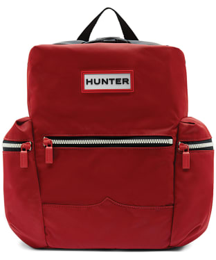 Hunter Original Nylon Mini Backpack - Military Red