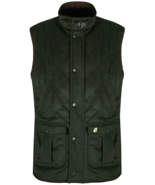 Men's Alan Paine Loden Gilet - Olive
