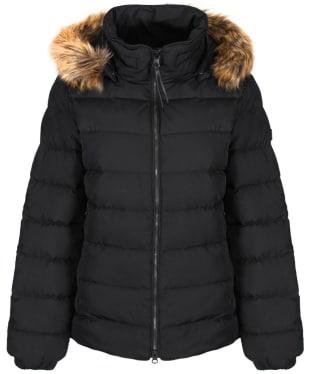 Women's Aigle Rigdown Short Puffer Jacket - Black