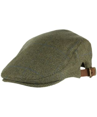 Alan Paine Combrook Waterproof Unisex Tweed Cap - Lagoon