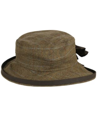 Women's Alan Paine Combrook Tweed Hat - Willow