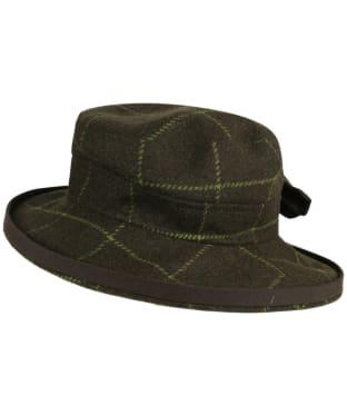 Women's Alan Paine Combrook Tweed Hat - Avocado