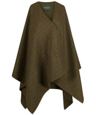 Women's Alan Paine Combrook Ladies Tweed Wrap - Willow