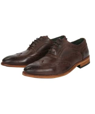 Men's Barbour Beale Brogue - Brown
