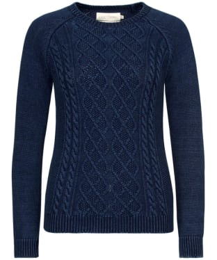 Women's Seasalt Offshore Jumper - Indigo Dye