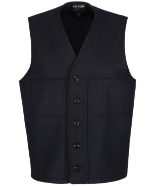 Men's Filson Mackinaw Wool Vest - Navy