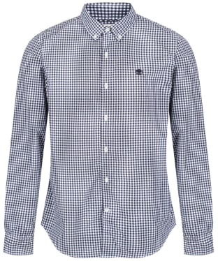 Men's Timberland Suncook River Gingham Shirt - Dark Navy