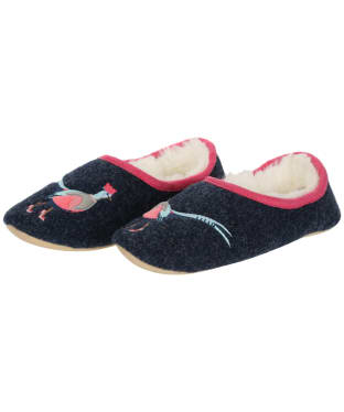 Women's Joules Slippet Mule Slippers - French Navy
