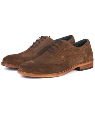 Men's Barbour Beale Brogue - Tobacco