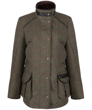 Women's Dubarry Marlfield Tweed Waterproof Jacket - Moss
