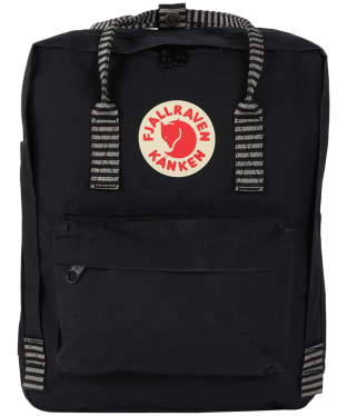 Fjallraven Kanken Backpack - Black Striped