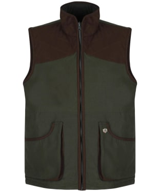 Men's Alan Paine Berwick Waterproof Shooting Waistcoat - Olive
